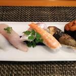 玄海鮨 - 松にぎり  1500円