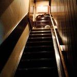 酒肆 門 - 階段