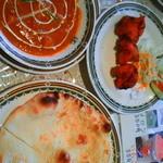 インドレストラン ブシャーン - セット