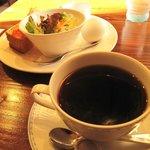 よしの瀬 - ホットコーヒー 380円