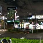 ダルバートダイニング - 夜の大塚駅付近