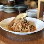 97604171 - 国産ひき肉と愛知県産ツルムラサキのボロネーゼ