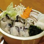 グルチョンゴル 牡蠣鍋