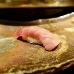 鮨処 すずめ - 料理写真:[2018/11]寿司⑤ 大間産中とろの握り