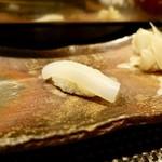 鮨処 すずめ - [2018/11]寿司② やりいかの握り 塩