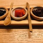 響 - 川海苔  明太子  浅蜊佃煮
