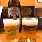 母や - やっぱりビールが好き♡