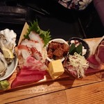 魚金 - 玉手箱