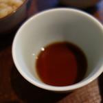蕎麦前 小まつ - 辛汁