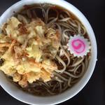 山屋 - 料理写真:てんぷらそば500円