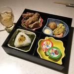雑魚屋 - おこさま膳 680円+税