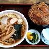 大むら - 料理写真:大むら@青海(糸魚川) ラーメン 並・かつ丼(600円+750円)