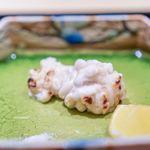 一本木石橋 - 鱈の焼き白子、木柚