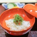一本木石橋 - 梅と紫蘇のお雑炊