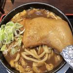 肉汁うどん 自家製麺 まとや - 料理写真:チキン加里うどん   チキンレッグが凄ッ!