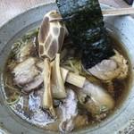 中華そば 匠 - 料理写真:どうでしょう。この艶姿(^◇^)