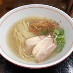 辛っとろ麻婆麺 あかずきん  - 真鱈のとろみ生姜そば790円