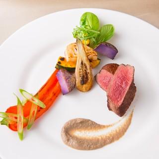【旬の食材】九州産を中心に厳選食材を使用した自然派イタリアン