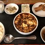 Chiiran - 四川麻婆豆腐Bセット