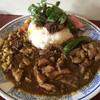 中華料理 八戒 - 料理写真:12月のOsamu式カリィ 3種盛り+猪魯肉飯