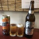 中華料理 八戒 - 瓶ビールと飲みながら来たストロングゼロw