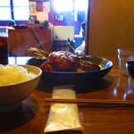 97623738 - 頂いた食事とても美味しかったです。ご馳走様でした。