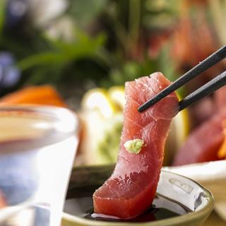 四季折々…日本の旬を味わう。産地直送の食材でおもてなし。