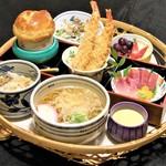 海老徳 - 花かご膳(秋・冬)