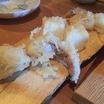 浅見製麺所 - イカは各部位ともに適切な揚げ具合