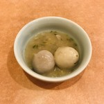 南国飯店 - 里芋の青ネギ煮