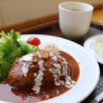 松田山ハーブガーデン  - 足柄牛ハンバーグ