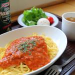 松田山ハーブガーデン  - 料理写真:ミートソースパスタ