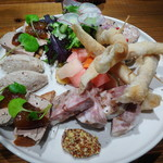 レ ファーブル ボンジュール - 料理写真:前菜盛り合わせが凄すぎる!