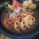 GOYEN - カリっとチキンカリー+野菜トッピング