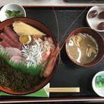 喫茶 か寿が - ぎばさ定食(1,070円)