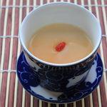 茶館喫茶去 - 料理写真:【杏仁豆腐】