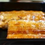 うなぎ秋本 - お重(写真)か丼かを選択可。