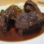 97633873 - 国産牛ホホ肉の赤ワイン煮込み
