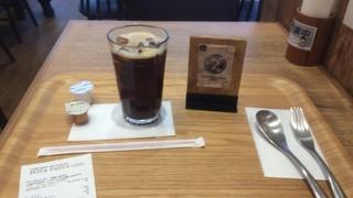 """ポタパスタカフェ 武蔵小金井店 - """"飲み物のアイスコーヒーSはセルフで・・・"""""""