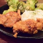 Rojiura Curry SAMURAI. - 【侍.まつり(3種)@1,580円】さくさくブロッコリー&ザンギは、ライスに添えて。
