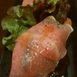 ボン・テーブル - 鶏胸肉とラタトゥイユの生ハム包み 650円
