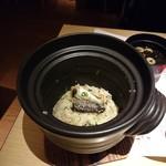 つみき - 秋刀魚としめじの釜飯