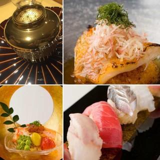 味だけではなくパフォーマンスも含めて愉しめる江戸前鮨店