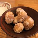 蕎や 月心 - 塩煎り銀杏