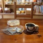 オーガニック七菜 - フルフル寒天のレモンシロップとコーヒー