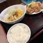 サウスヴィラ - 料理写真:汁なし担担麺セット 1/3