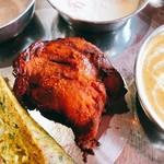 インディアン・レストラン Taz Mahal - タンドリーチキン