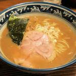 らーめん 木尾田 - 料理写真:らーめん太麺750円