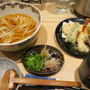 Ookubo - 料理写真:海老と野菜の天ぷら付き冷かけうどん