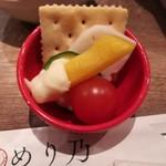 MERINO - お通しのチーズフォンデュ